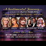 July 13: A Sentimental Journey: The Music of Ruth Roberts